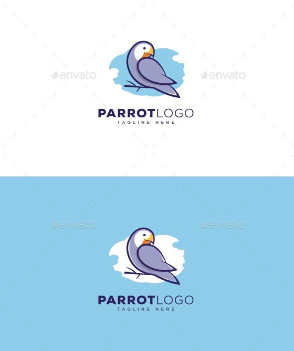 Parrot Logo - Animals Logo Templates