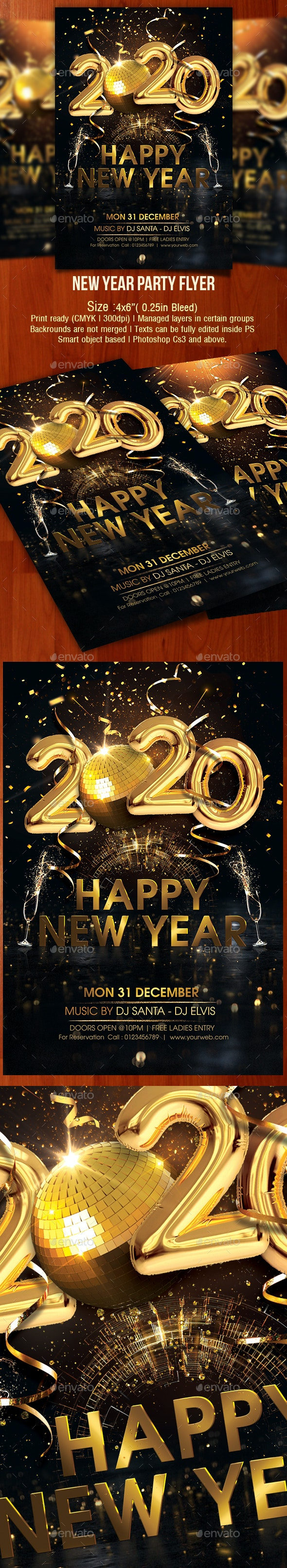 Happy New Year 2020 - Clubs & Parties Events