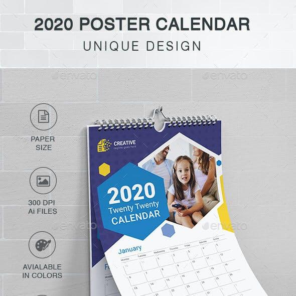 Poster Calendars 2020