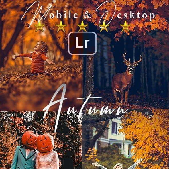 HDR Autumn Lightroom Presets
