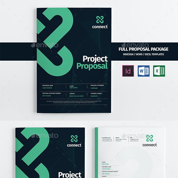 35 Pages Full Proposal A4 / US Letter