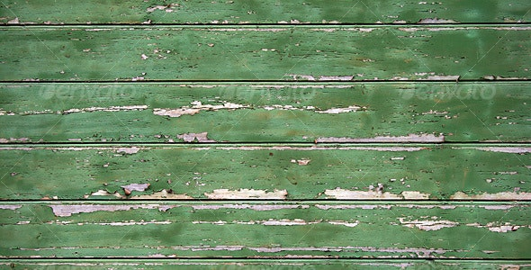 Vintage painted desk - Wood Textures