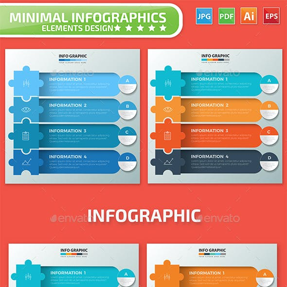 Puzzle Infographic Design