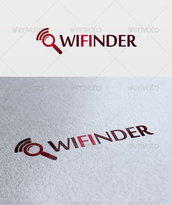 Wifinder Logo - Symbols Logo Templates