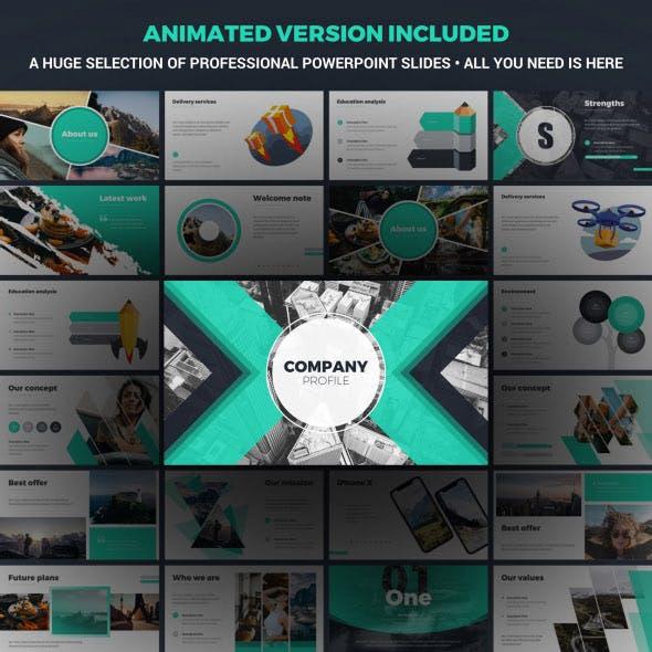 Company Profile Animated