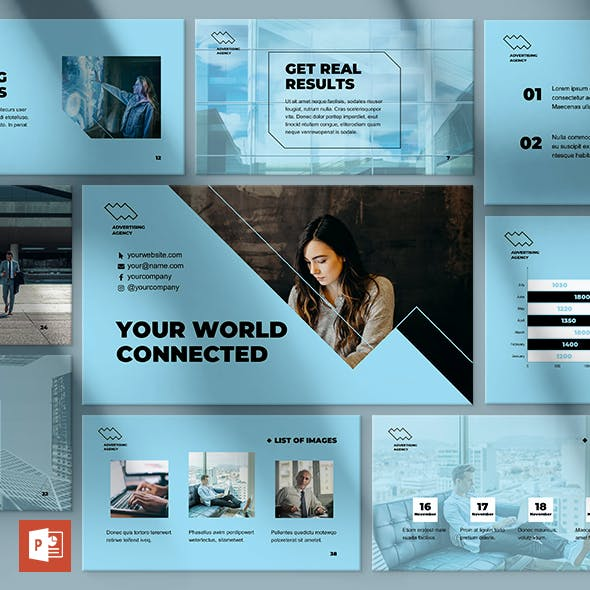 Advertising Consultant PowerPoint Presentation Template