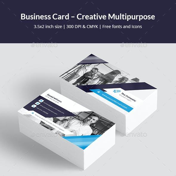 Business Card – Creative Multipurpose