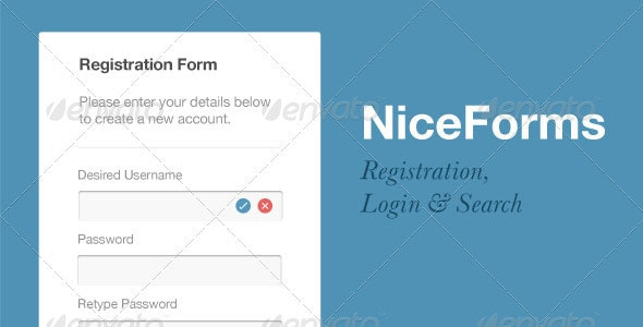 NiceForms - Forms Web Elements