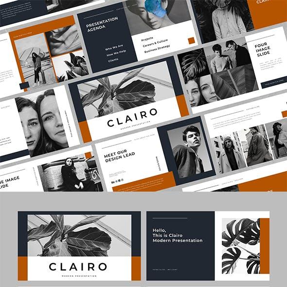 Clairo - Business Keynote Template