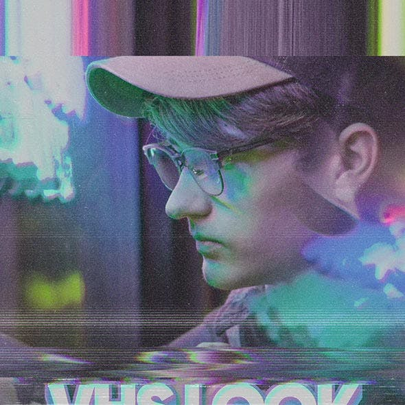 VHS Look Photoshop Action