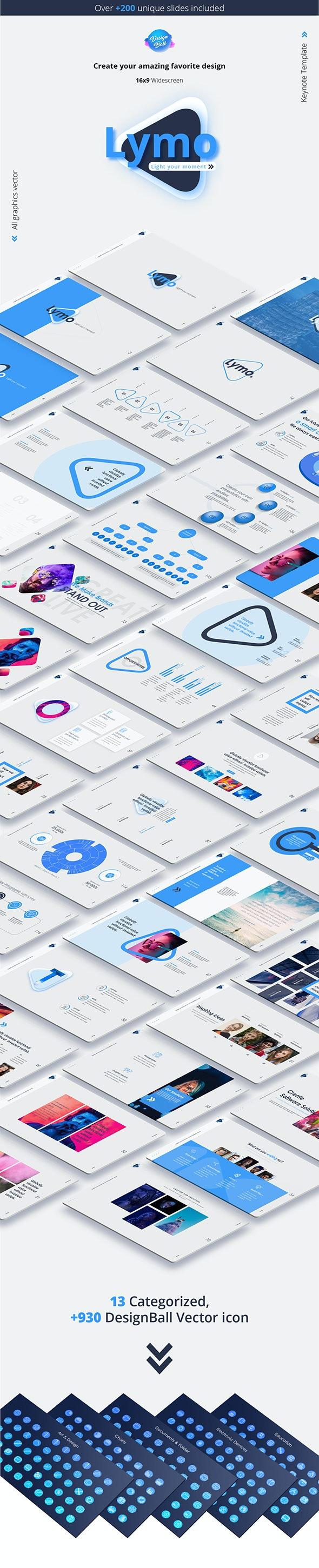 Lymo Keynote Presentation Template - Business Keynote Templates