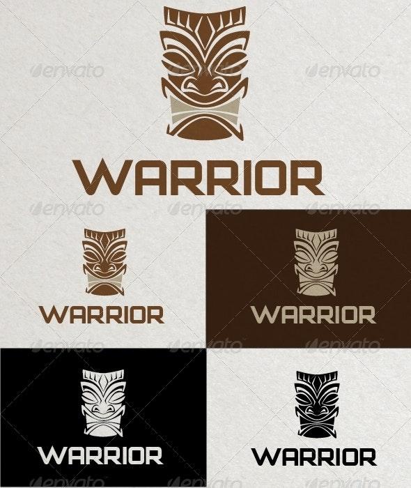 Warrior Logo Template - Objects Logo Templates