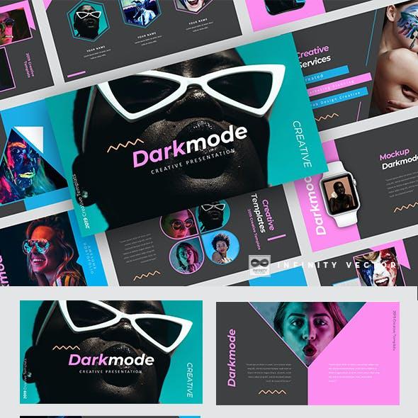 Darkmode Creative Powerpoint