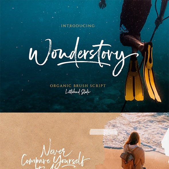 Wonderstory - Brush Script
