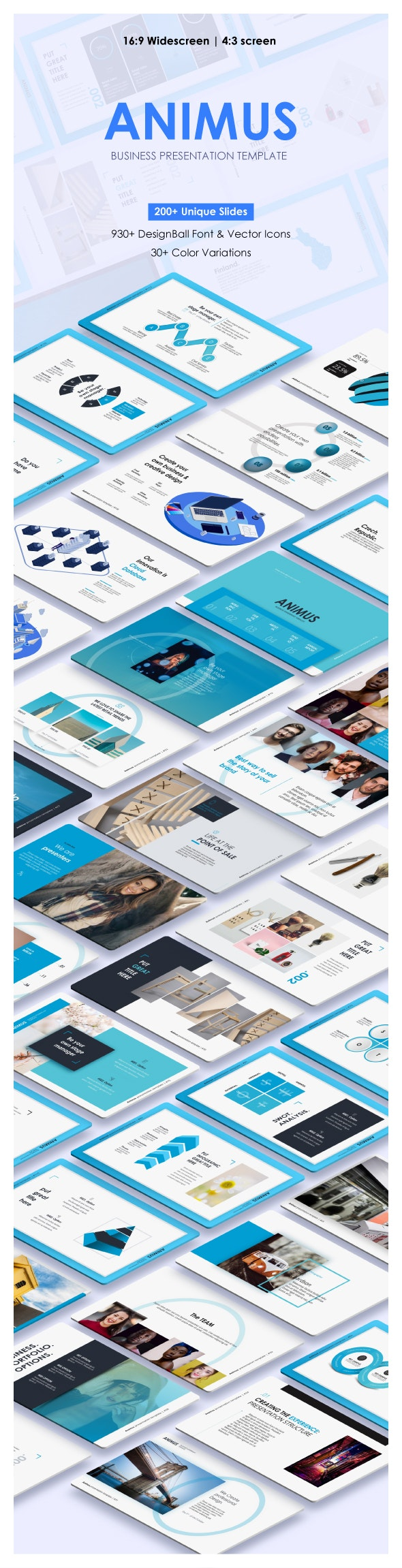 Animus Powerpoint Presentation Template - Business PowerPoint Templates