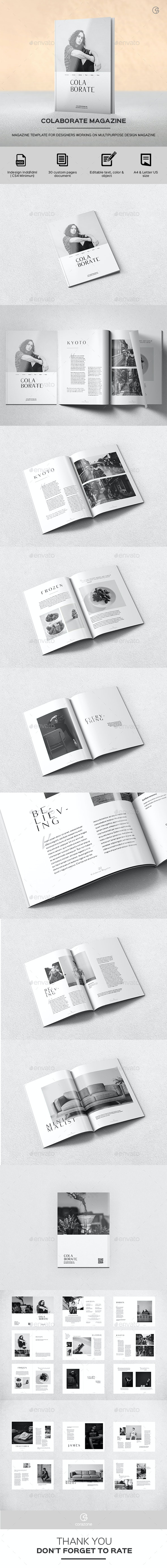 Colaborate Magazine (2019 Edition) - Magazines Print Templates