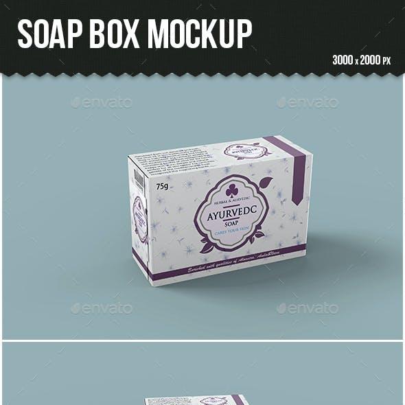Soap Box Mockup