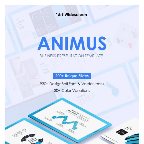 Animus Keynote Presentation Template
