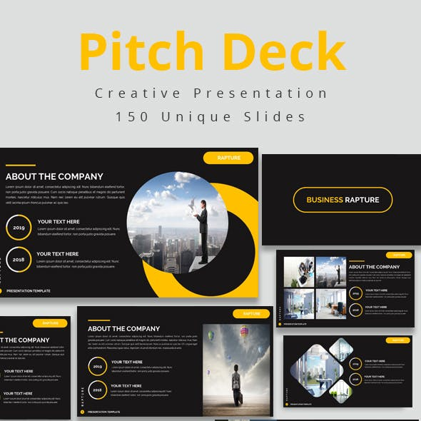 Pitch Deck Keynote Bundle