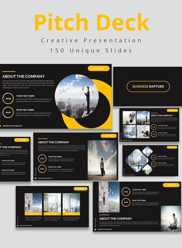 Pitch Deck Keynote Bundle - Business Keynote Templates