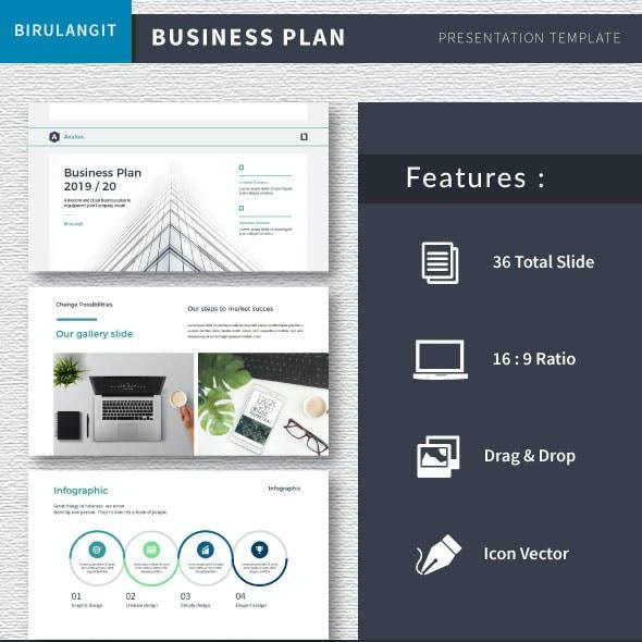 Avalon Business Plan - Google Slide PPTX