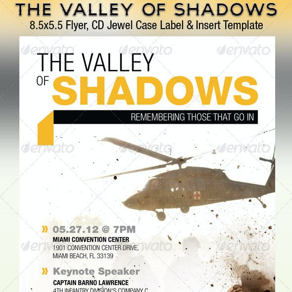 Valley Shadows Flyer CD Template