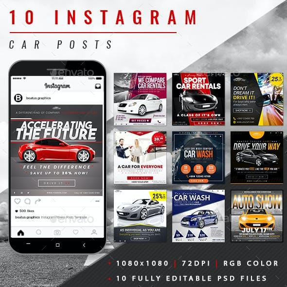 Car Instagram Posts
