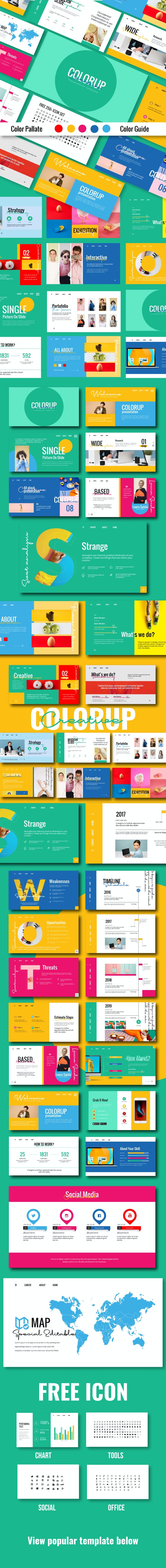 Colorup Powerpoint Template - Creative PowerPoint Templates