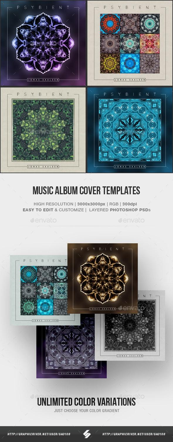 Psybient - Music Album Cover Artwork Templates - Miscellaneous Social Media