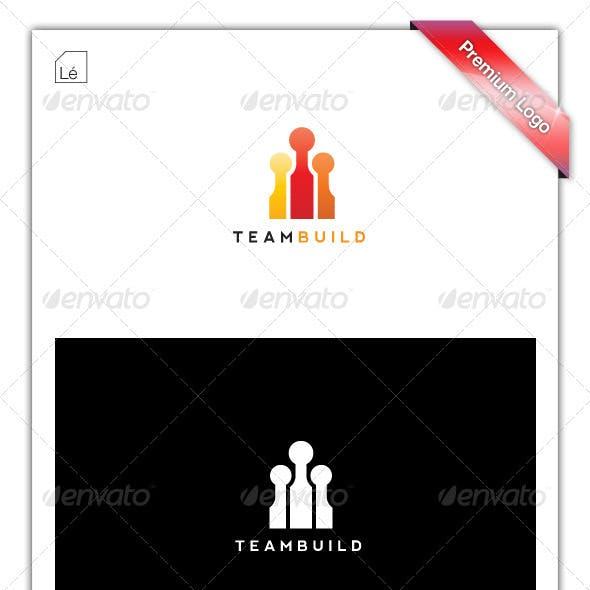 Team Build Marketing Logo