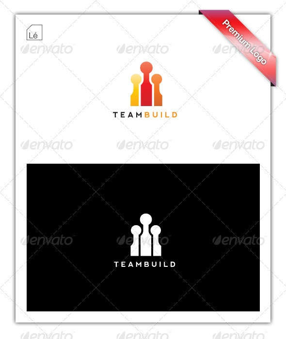 Team Build Marketing Logo - Objects Logo Templates