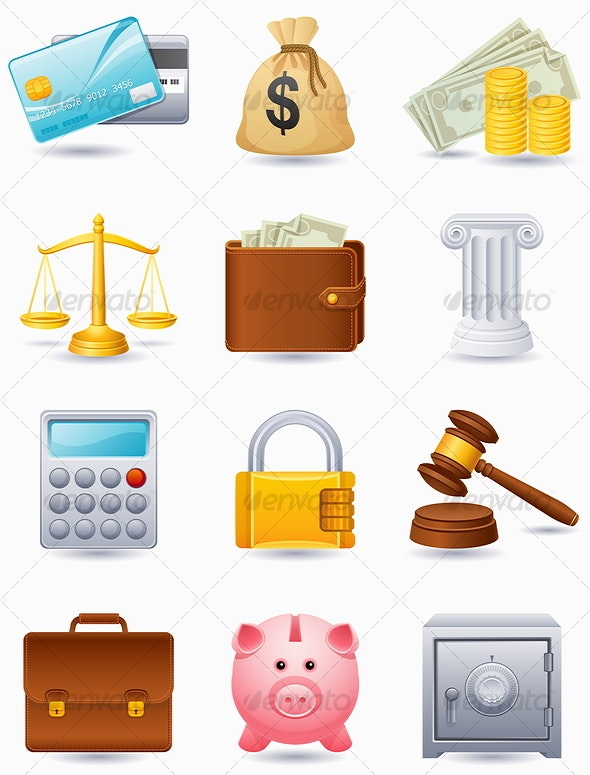 Finance icon - Commercial / Shopping Conceptual