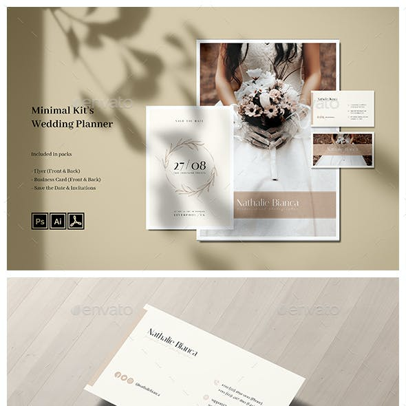 Minimal Wedding Photography Kits