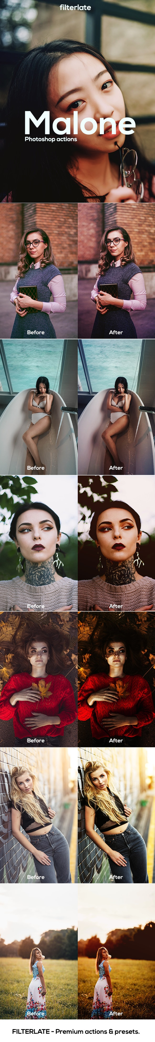 Malone Tones - Actions Photoshop