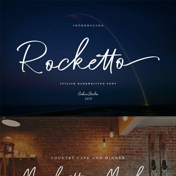 Rocketto Stylish Handwriiten Font