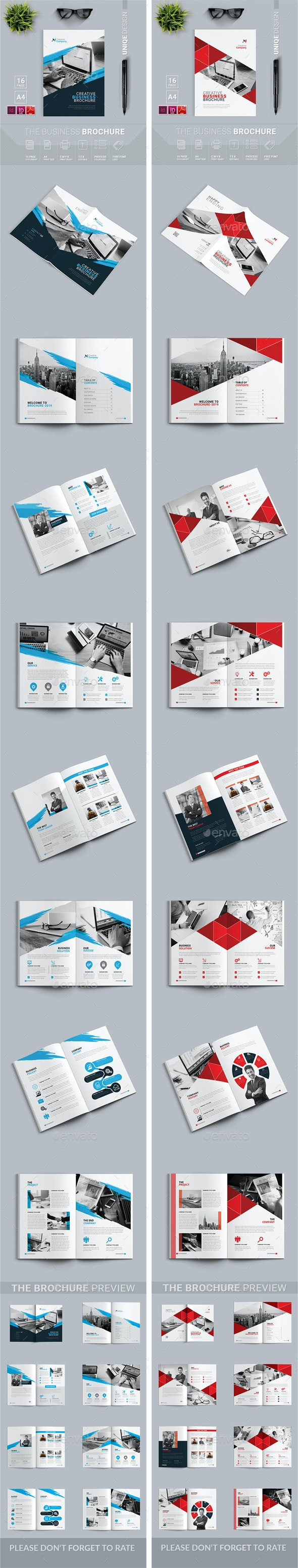 Brochure Bundle 2 in 1 - Brochures Print Templates