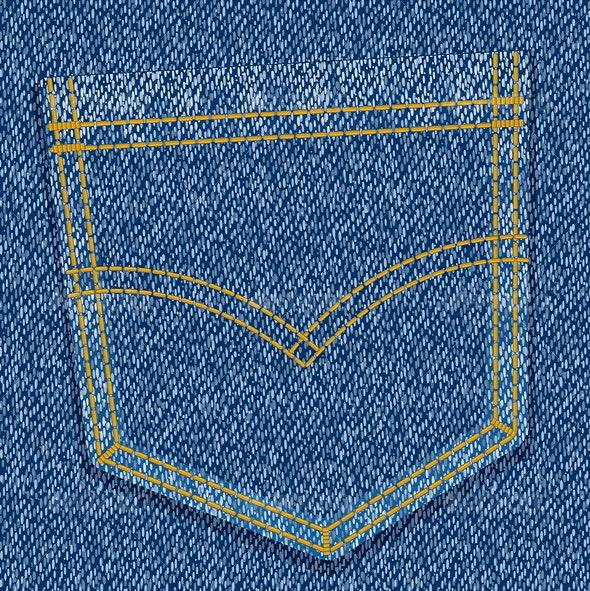 jeans pocket - Backgrounds Decorative