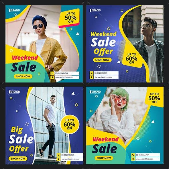 Sale Offer Instagram Post Banner