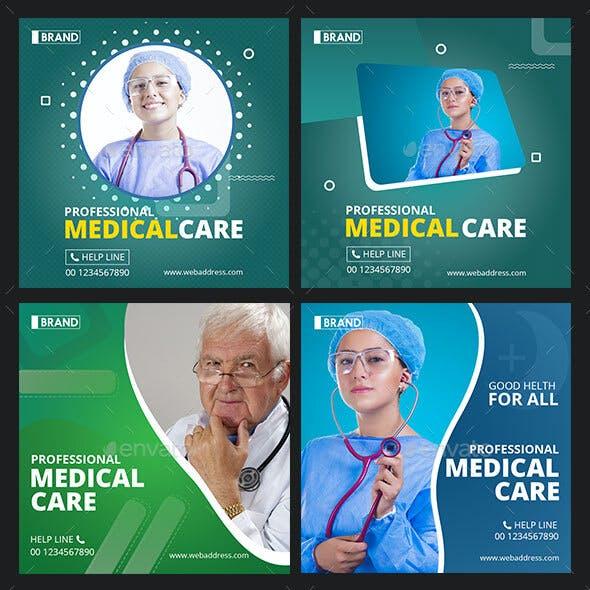Medical Instagram Post Banner