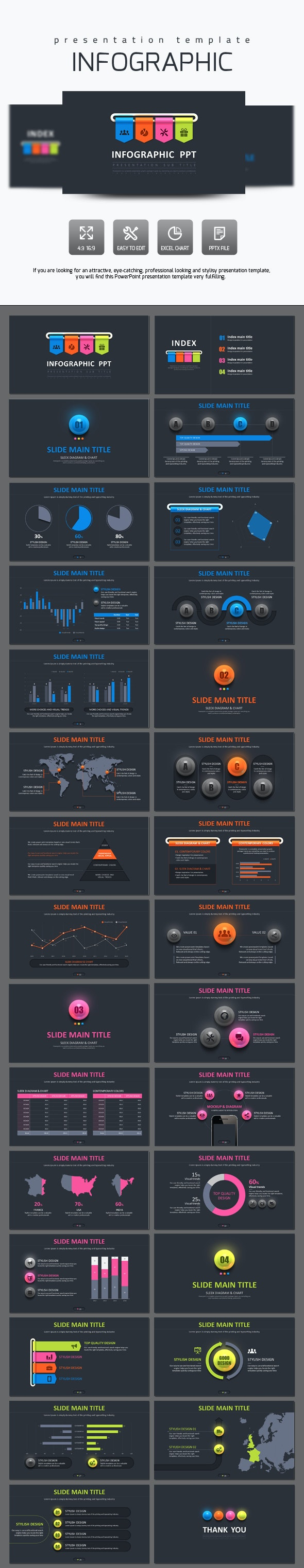 Infographic Presentation Template - PowerPoint Templates Presentation Templates