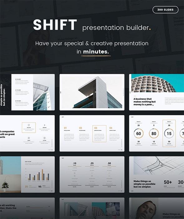 Shift Presentation Builder v1 (KEY) - Creative Keynote Templates