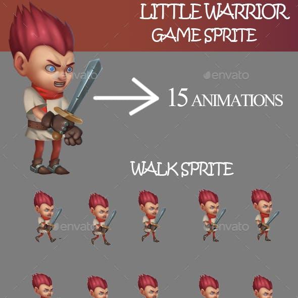 Little Warrior Sprite Sheet