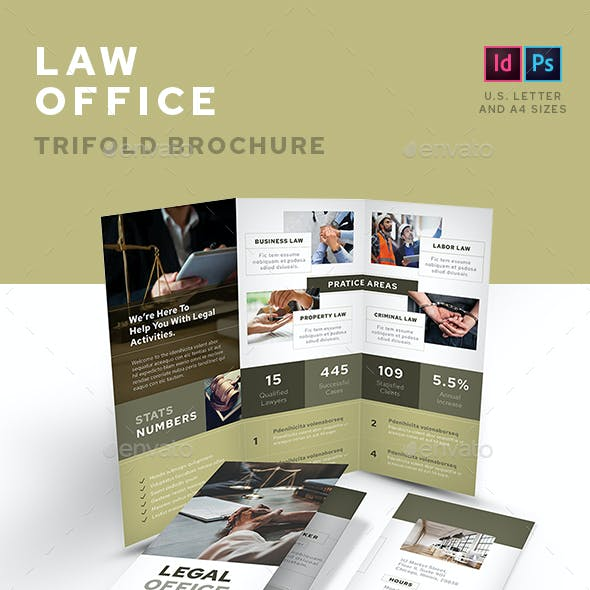 Law Office Trifold Brochure