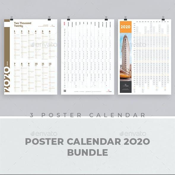 Poster Calendar 2020 Bundle