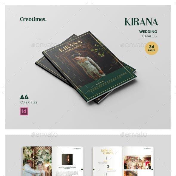 Kirana Wedding Catalog