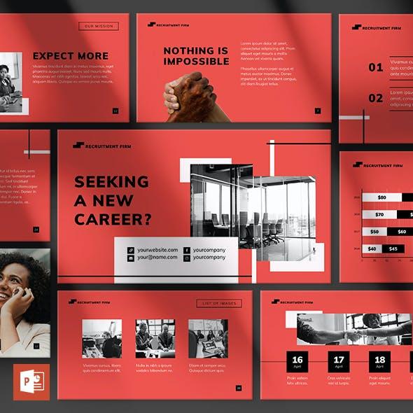 Recruitment Firm PowerPoint Presentation Template