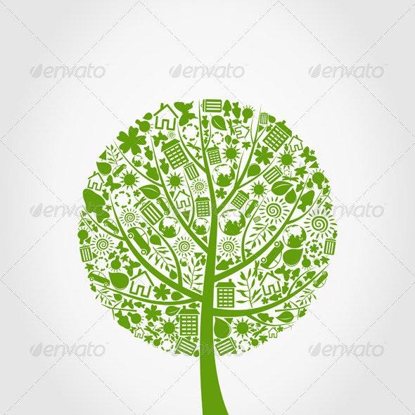 Ecology Tree - Flowers & Plants Nature