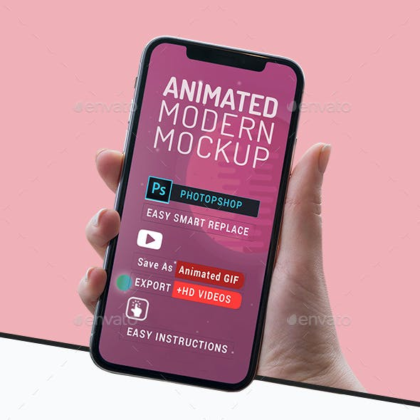 Animated Modern Mockup