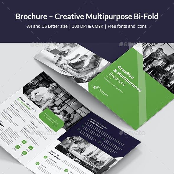 Brochure – Creative Multipurpose Bi-Fold