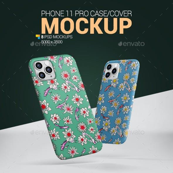 Phone 11 Pro Case Mockup